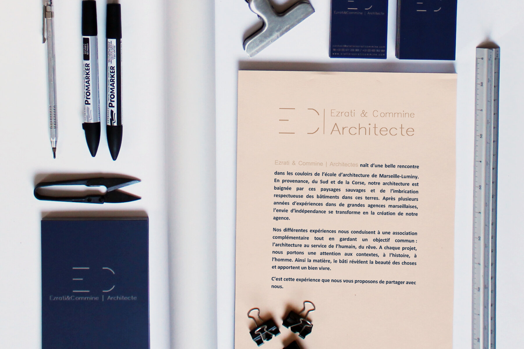 Couverture de EC architecte