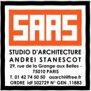 STUDIO D'ARCHITECTURE ANDREI sTANESCOT SARL