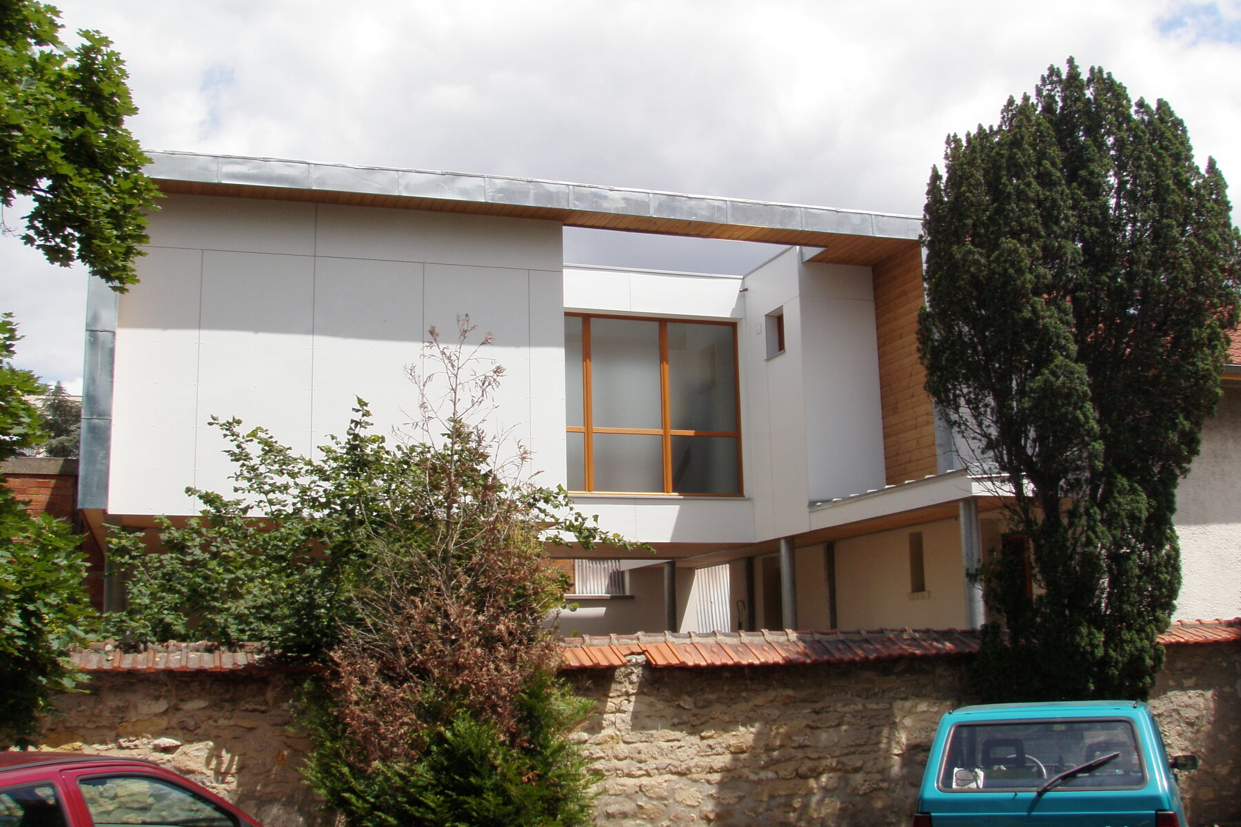 Couverture de P. Cros architecte