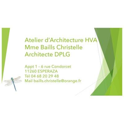 Mme BAILLS Christelle Architecte DPLG