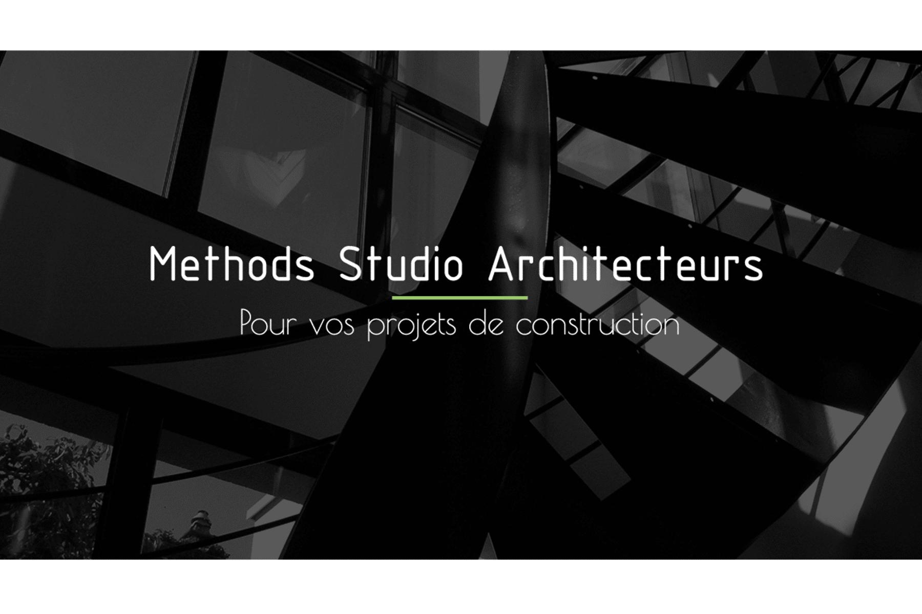 Couverture de METHODS STUDIO ARCHITECTEURS