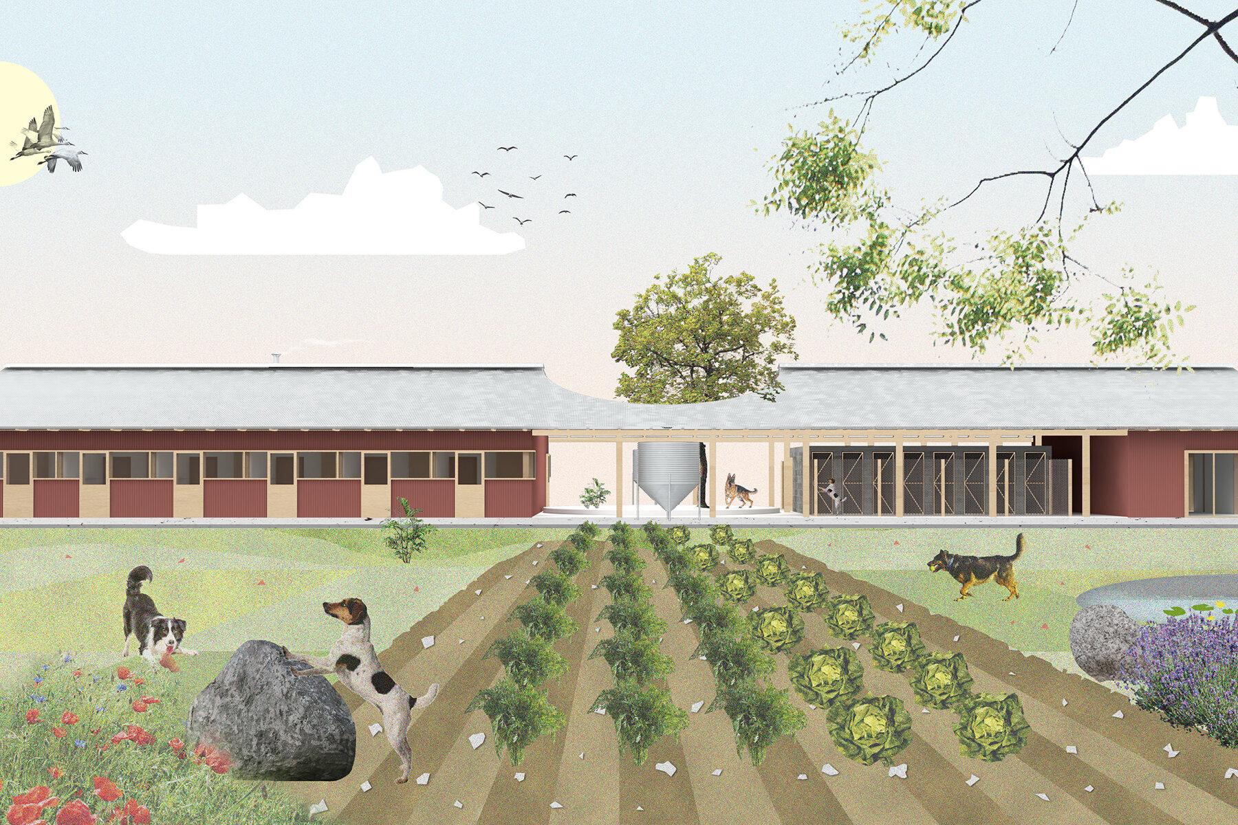 Photo Couverture de rural. - Réalisations architecte Archidvisor
