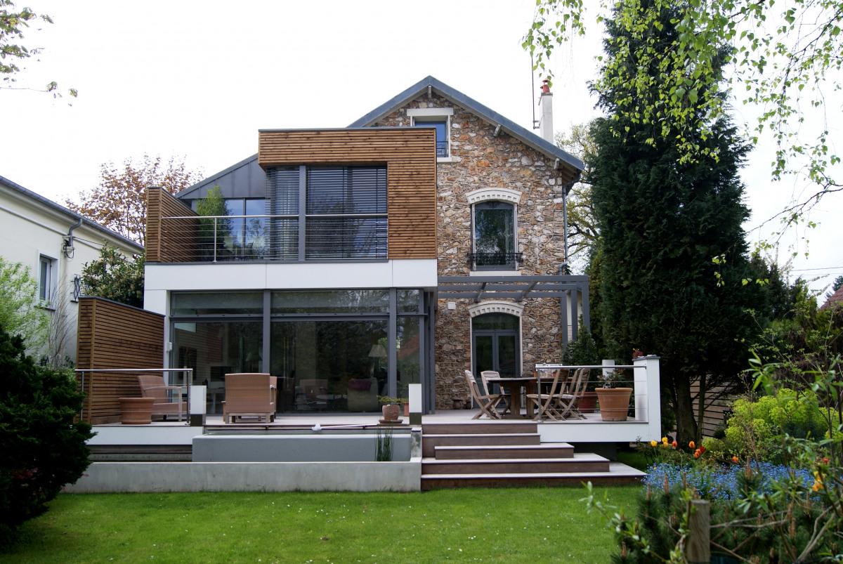 extension les pavillons sous bois extension maison. Black Bedroom Furniture Sets. Home Design Ideas