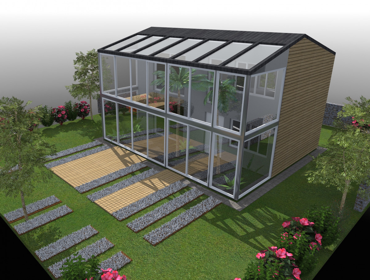 serre tropicale archidvisor. Black Bedroom Furniture Sets. Home Design Ideas