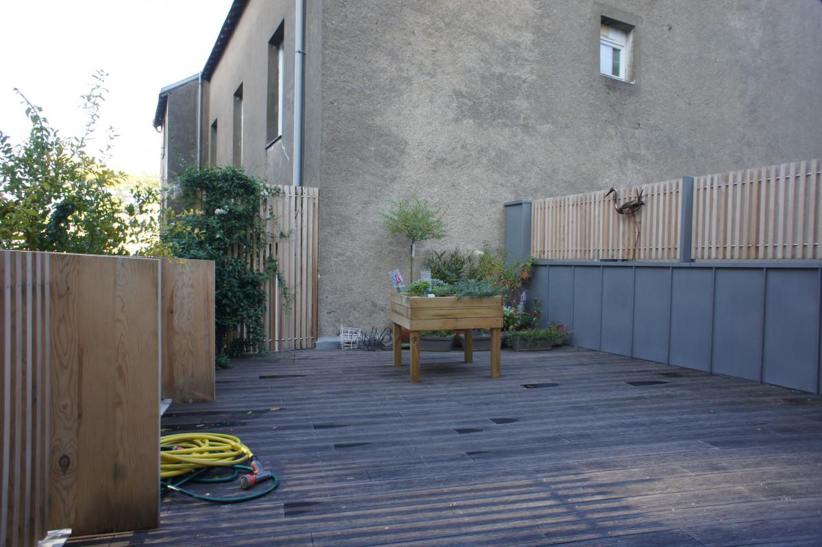 ᐅ Amenagement Exterieur A Nantes Terrasse En Ville Par