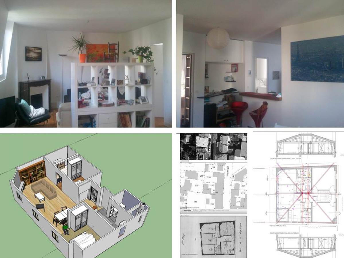 appartement sous comble - archidvisor
