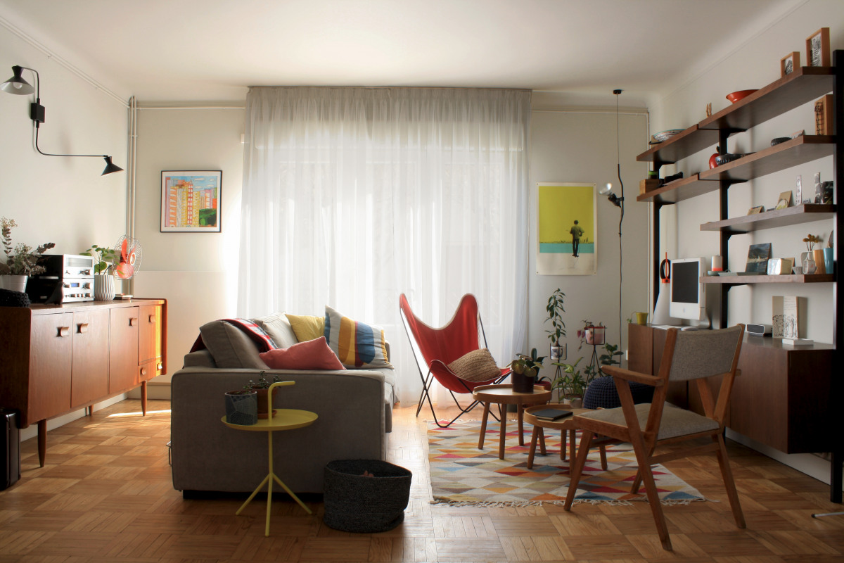 r novation maison des ann es 50 archidvisor. Black Bedroom Furniture Sets. Home Design Ideas