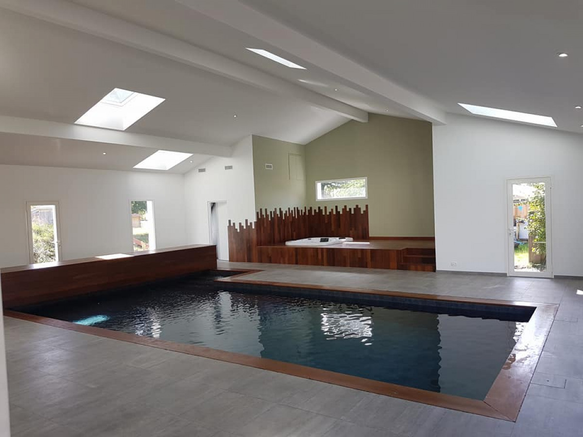 Extension Maison Piscine Couverte ᐅ construction neuve à salles ≡ construction piscine