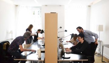 Rafraichissement d'un bureau pour faciliter le coworking